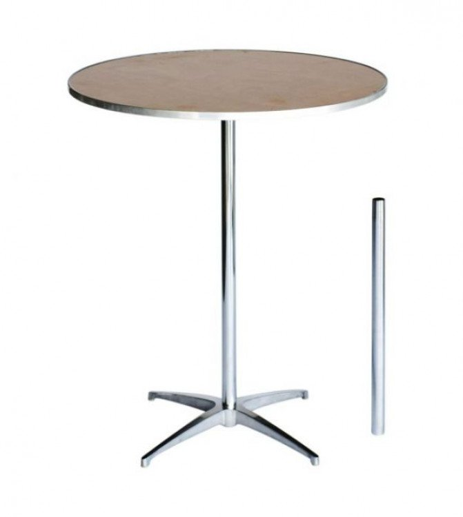 36 Inch Round Plywood Cocktail Table Kit 1 Cocktail Table