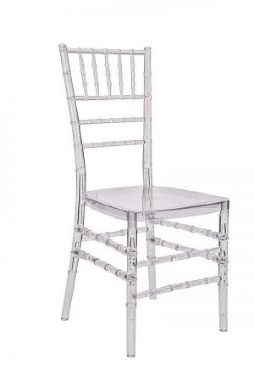 Chair Chiavari Resin Clear 1 Chiavari Chair - Clear