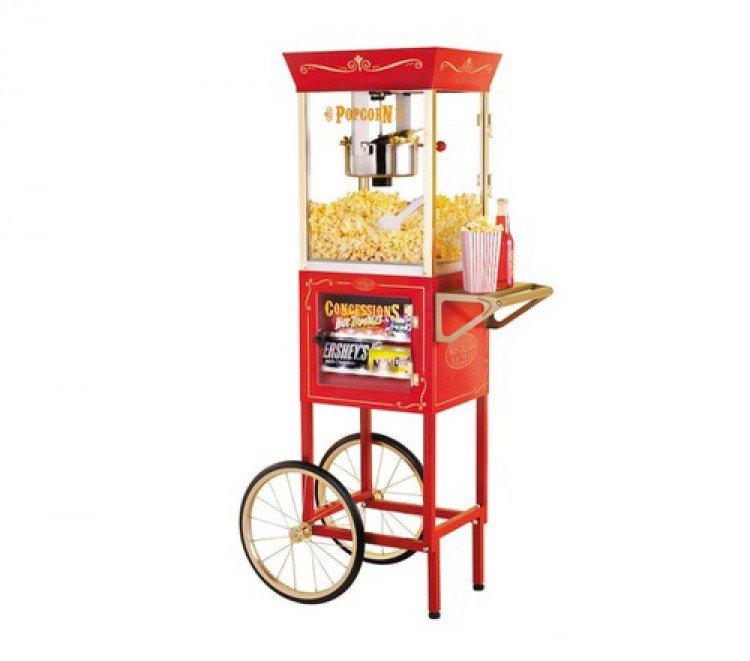 popcorn20w20cart 1614574139 big C5 Popcorn Machine w/ Cart