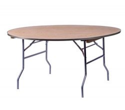 5 - 60 Round Tables