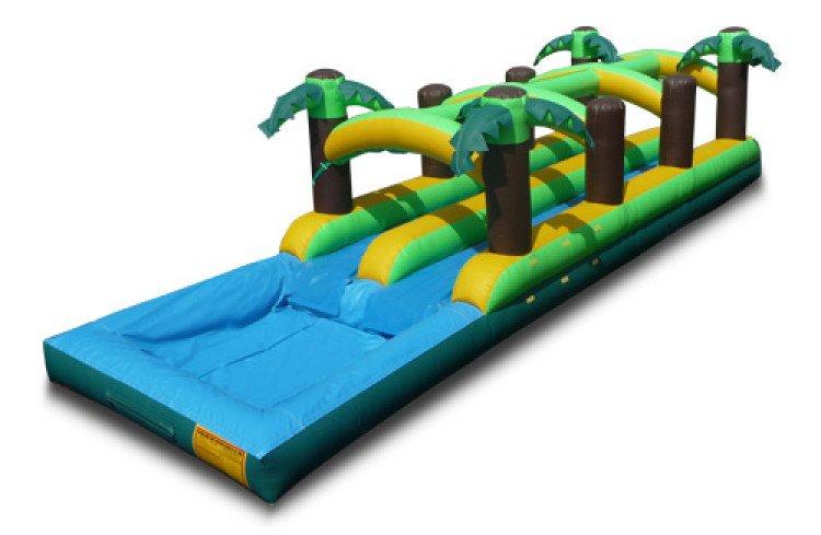tropical204 1614699737 big Dual Lane Tropical Slip and Slide