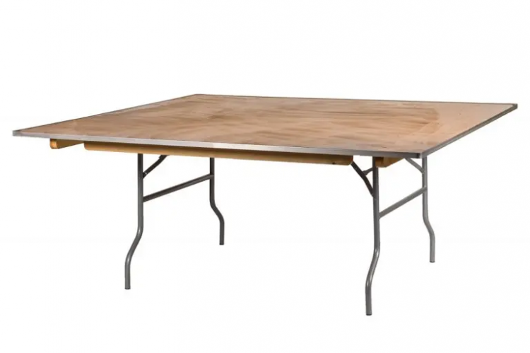 72 Square Table