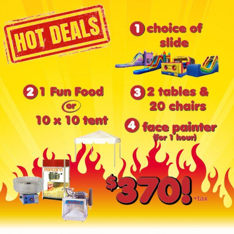 SBR20 20Hot20Deals20 20Slide food tables facepainter20 20Apr202021 1617842720 big Z13 Face Paint & Slide