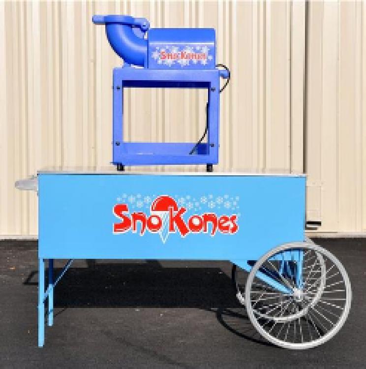 C7 Sno Cone Cart & Machine