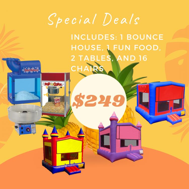 Z01 Bounce House Deal