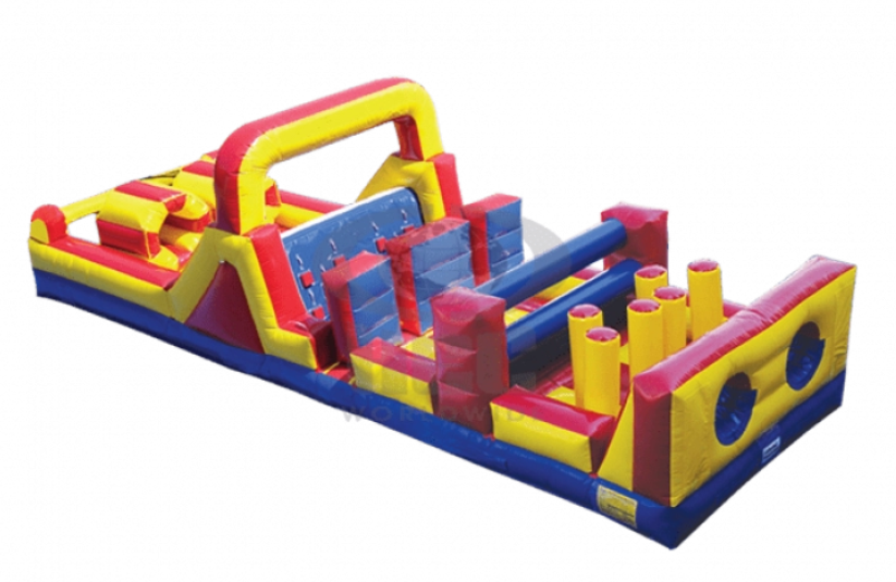 obstacle course bounce house rentals miami